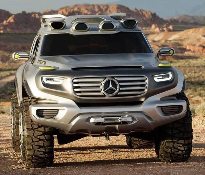♠ Mercedes-Benz Ener-G-Force Concept #SUV #Car #Automotive