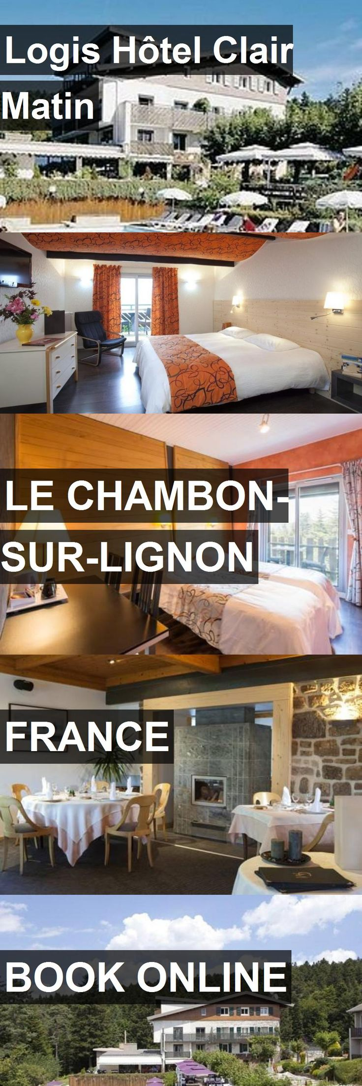 Hotel Logis Hôtel Clair Matin in Le Chambon-sur-Lignon, France. For more information, photos, reviews and best prices please follow the link. #France #LeChambon-sur-Lignon #travel #vacation #hotel