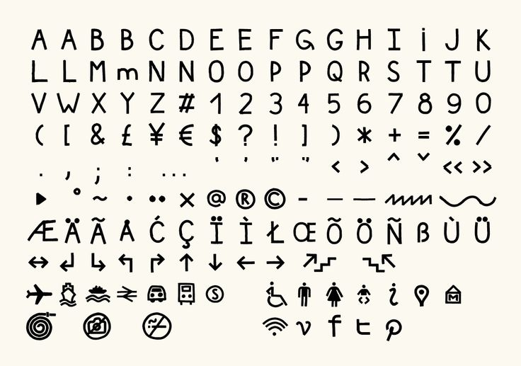 The dingbats and Cyrillic characters for this are <3 <3 <3 <3   Glasgow International (Identity) – Kellenberger–White