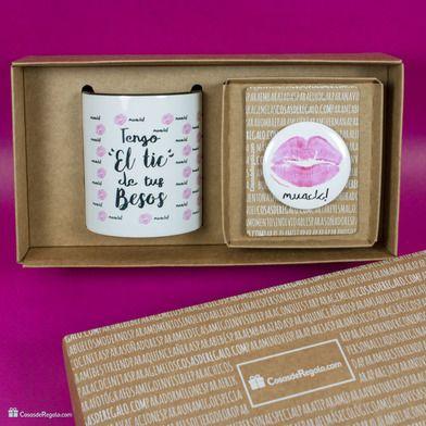 Categorias Packs Pack de taza y espejo El tic de tus besos-
