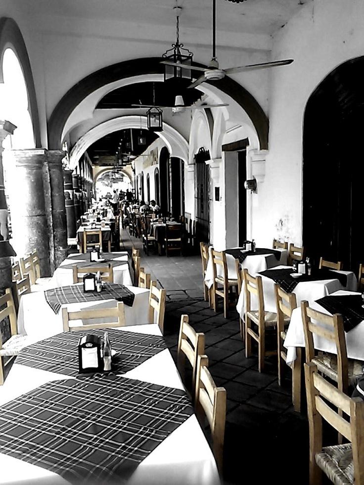 Desde Comala, Colima. Y sus famosos portales!! :)