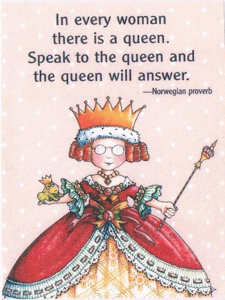 The Queen will speak
