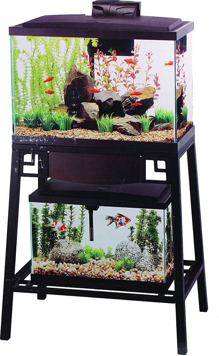 Amazon.com : Aqueon Forge Aquarium Stand, 24 by 12-Inch : Pet