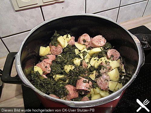 Grünkohl-Eintopf im Schnellkochtopf, ein gutes Rezept aus der Kategorie Gemüse. Bewertungen: 3. Durchschnitt: Ø 3,8.