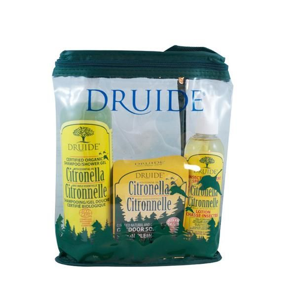 Ecotrail Outdoor Kit Includes a bar soap, shampoo-shower gel, multi-purpose soap and deodorant. 5$ per kit donated to the David Suzuki Foundation