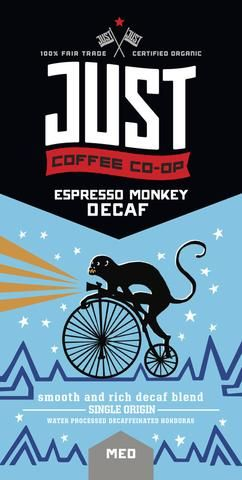DECAF version of Electric Monkey Espresso — fav coffee & just found out that espresso has way less acid than regular coffee so I can drink this (!!!)
