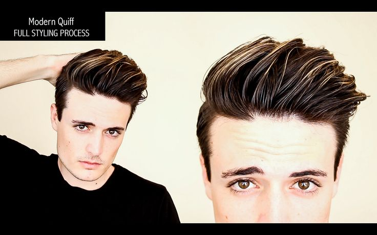 Undercut Hairstyle | Modern Quiff - FULL PROCESS, NO EDITS - Mens Hair T...
