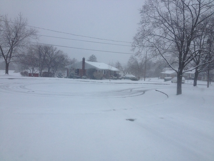 Snow - March 18, 2013 - Harrisburg, PA