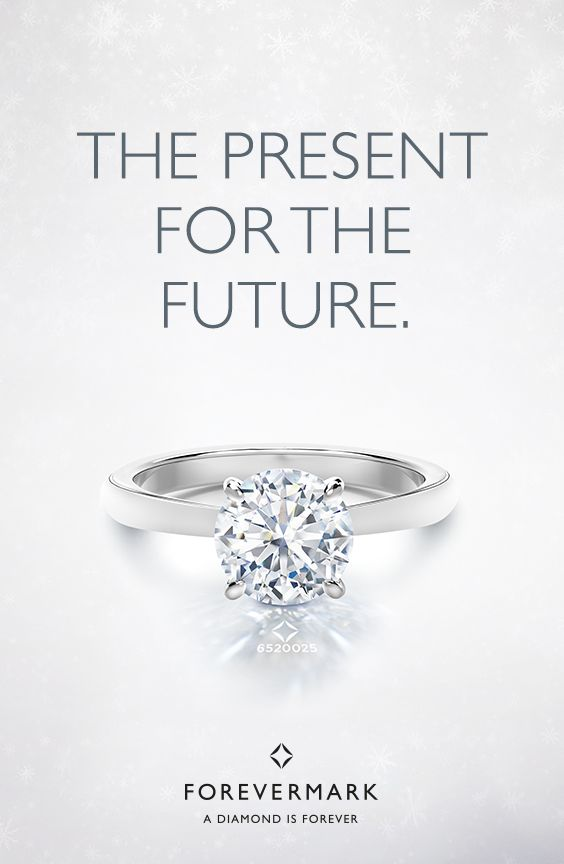 The perfect Christmas present for your happily ever after. Find her Forevermark diamond engagement ring on forevermark.com