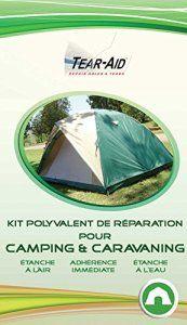 Kit polyvalent de réparation instantanée et sans colle pour tentes, sacs de couchage, matelas, bâches, toiles et autres matériels de…