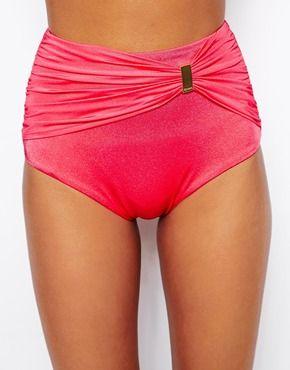 Gossard Sienna Red Triangle Bikini