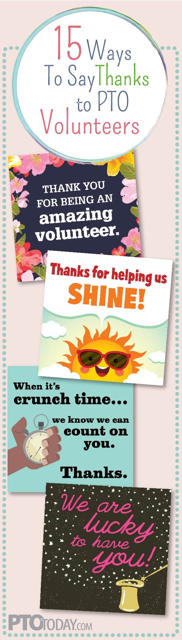 Get 15 new (and FREE!) social media graphics to say thanks to volunteers!