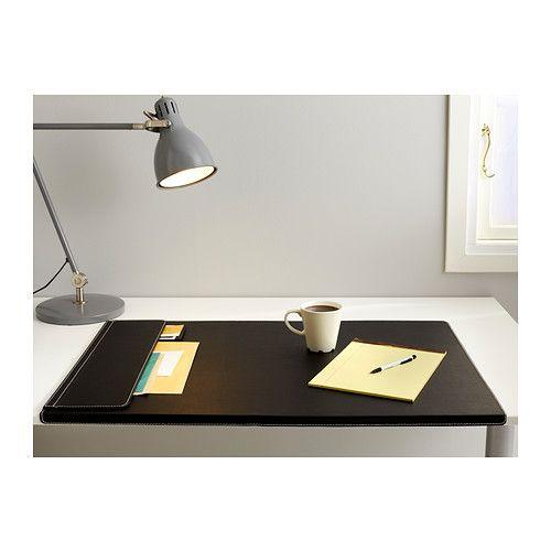 RISSLA Schreibunterlage IKEA Die gewölbte Kante verhindert das Verrutschen der Schreibunterlage.