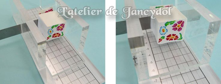 Photo tutorial on how to make your own slicer.  (Needs translation)  ~ Polymer Clay Tutorials