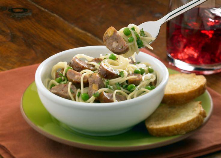 ... Italian with Garlic Basil Sauce made with Johnsonville Italian Sausage