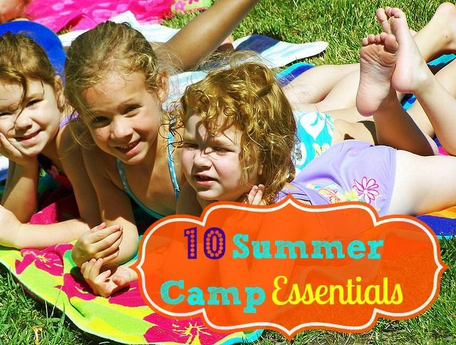 10 Summer Camp Essentials for Kids of All Ages http://groovygreenlivin.com/10-summer-camp-essentials-for-all-ages/ #summer #summercamp #camp