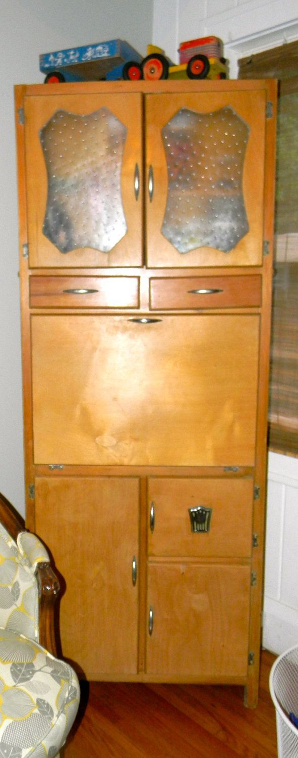 vintage kitchen furniture. Vintage Art Deco Kitchen Hoosier Cabinet By Vagabondsandcaravans On Etsy Furniture M