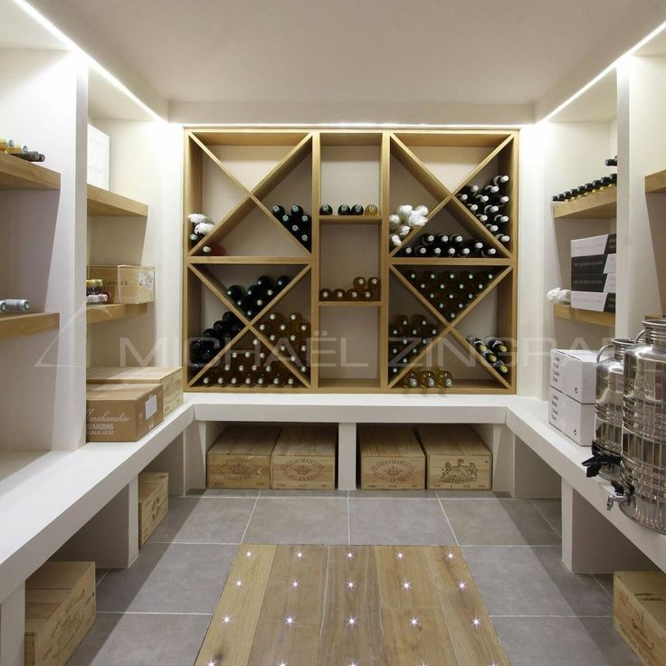 17 best images about wine racks cellars and storage on for Garage wine cellar