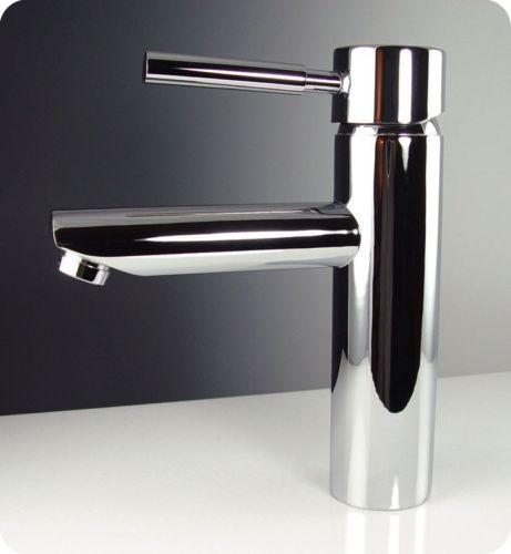 Fresca-Tartaro-Single-Hole-Mount-Bathroom-Vanity-Faucet-Chrome-Finish-Design