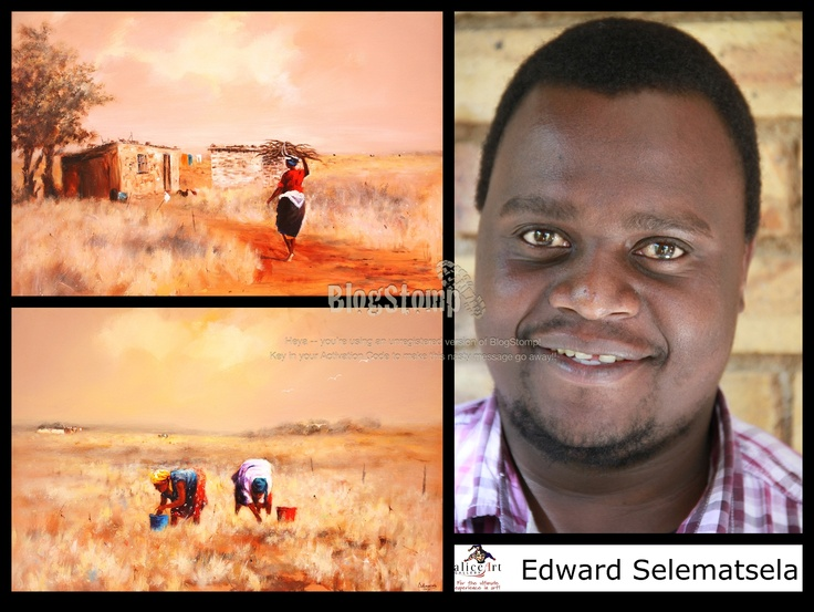 Edward Selematsela: Good investment-rural people in the fields!