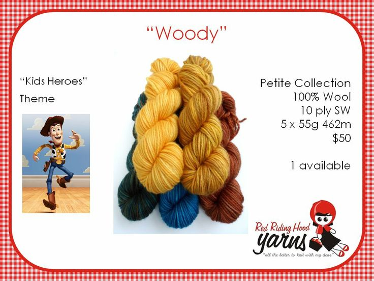 Woody - Kids Heroes | Red Riding Hood Yarns