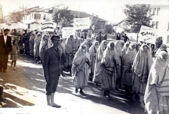 Malatya Kadın işçilerin grevi