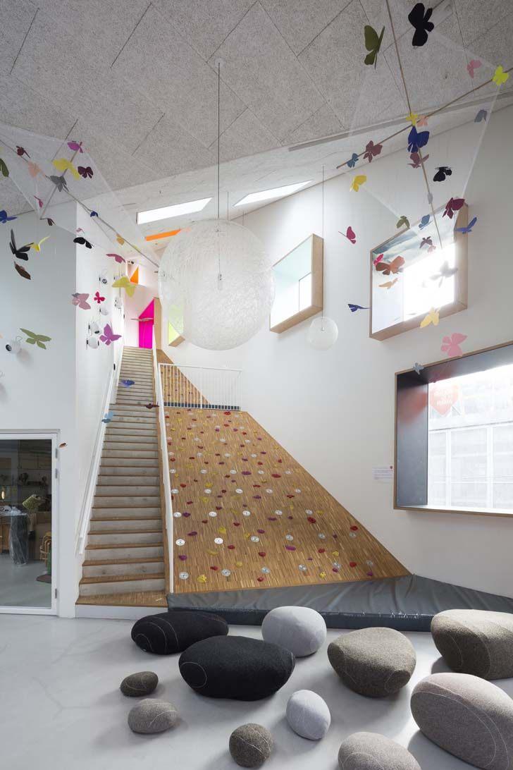 School Nursery Inspired by a Mountain - Petit & Small
