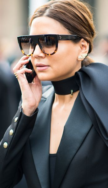 Celine sunglasses! Christine Centenera the most stylish lady ever! #sunglassesobsessed