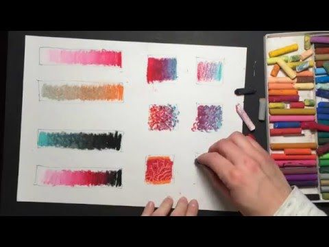 10 Oil Pastel Techniques - YouTube