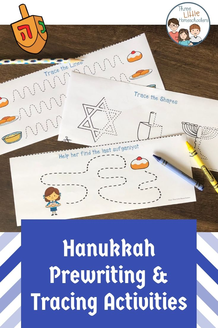 Get Ready For Hanukkah With These Fun Prewriting And Tracing Activities Includes Writing Activities For Preschoolers Writing Center Activities Writing Center [ 1102 x 735 Pixel ]