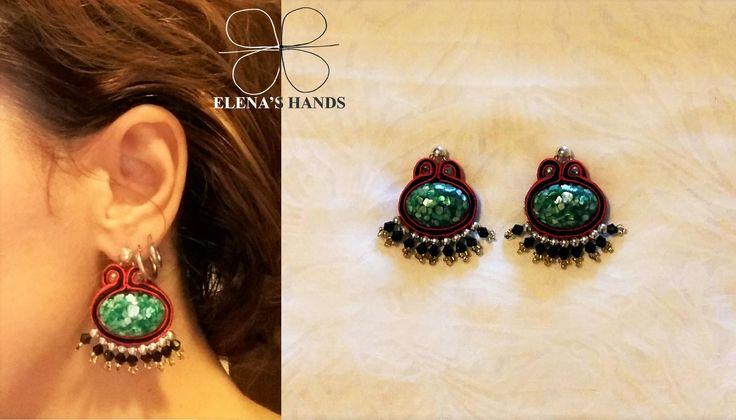 Orecchini fatti a mano #soutache #handmade #handmadejewelry