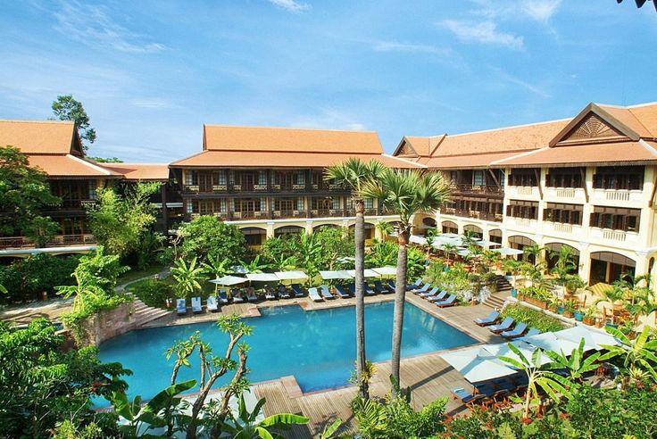 Hotel Victoria Angkor Resort And Spa - Siem Reap #HotelDirect info: HotelDirect.com