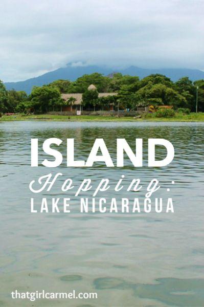 Island hopping on Lake Nicaragua