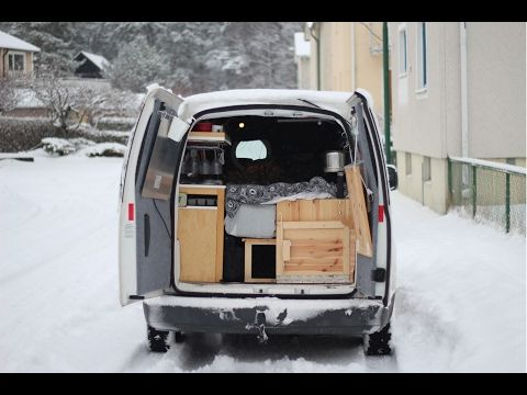 (1) How To Live In A VW Caddy Maxi - A Mobile Home - YouTube