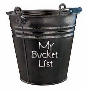 Just Danielle: Bucket List Tonight's blog is about bucket lists.  Here you can find out what's on mine.