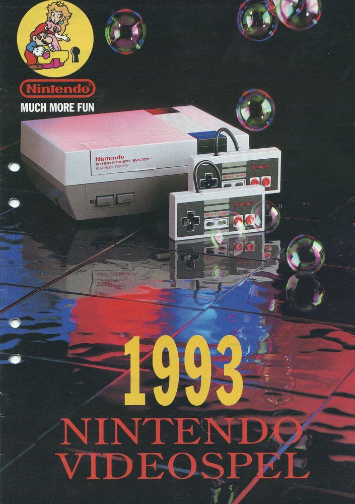 1993 Nintendo Videospel