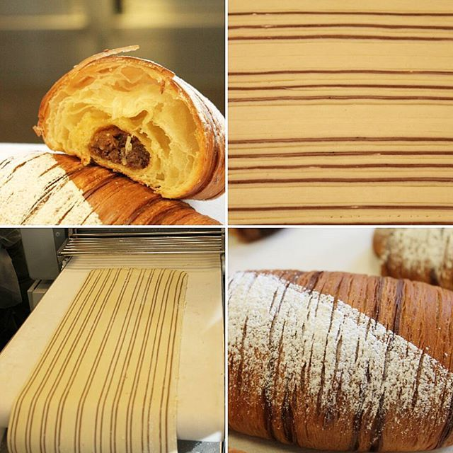Great training by Peter Yuen, the king of lamination! Thanks @bakerpete3339 #peteryuen #lamination #layers #puffpastry #pateleveefeuilletee #butter #beurre #foodporn #funfunfun