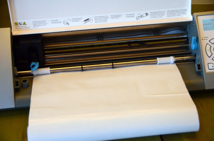 Screen printing on pillows using contact paper through Silhouette machine