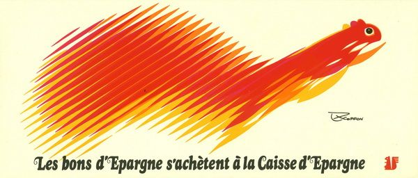 campagne Caisse d'Epargne, 1974, Roger Excoffon
