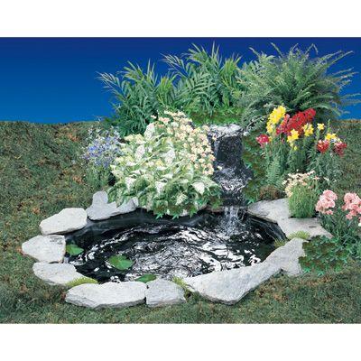 Cascade and Pond Kit — 170 GPH, 110 Volt 99$ - customer pics much better, customizable