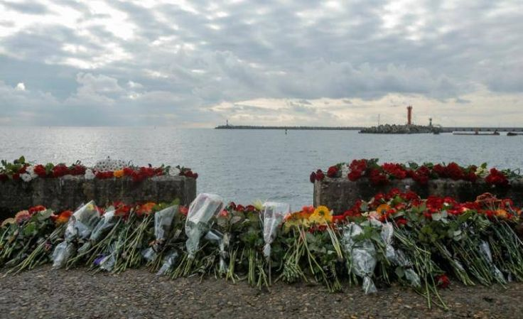 Russia finds first flight recorder from Black Sea crash jet