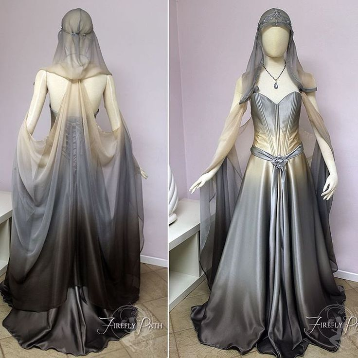 """~Starlight Gown~ After we started this gown, many of you commented on how you preferred it in its beginning stages. After adding more detail, I realized…"""