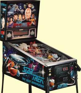 Star Trek: The Next Generation Pinball Machine