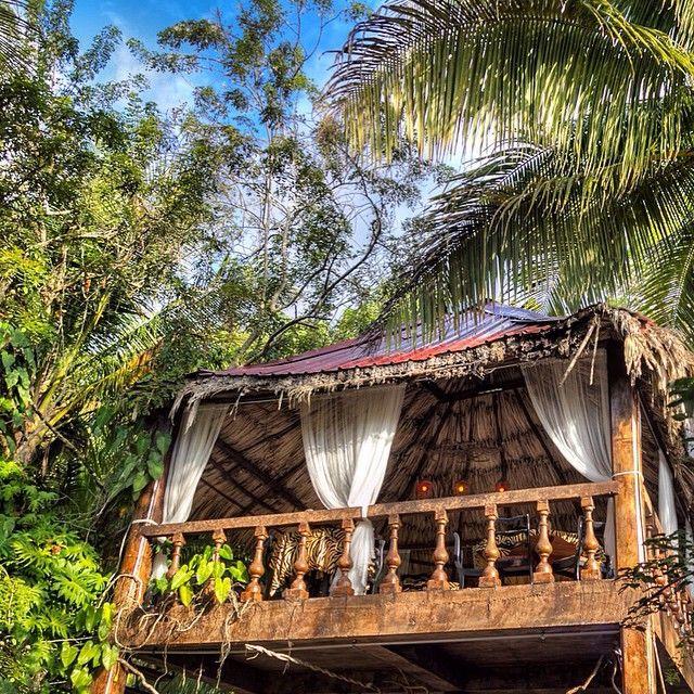 Maruba Resort Jungle Spa - A very unique boutique hotel in Belize.