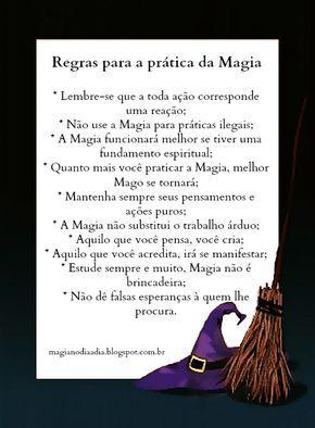 Magia no Dia a Dia: Regras para a prática da Magia http://magianodiaadia.blogspot.com.br/2016/09/regras-para-pratica-da-magia.html