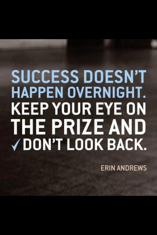 Don\u002639;t look back! Your past has nothing to do with your