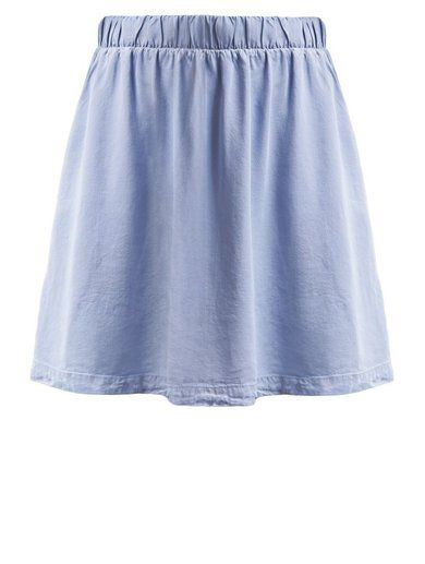 http://sellektor.com/user/dualia/collection/zalandoo Minimum MEY Spódnica mini jeans light blue