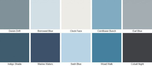 Dulux Colour of the Year How to Decorate with Denim Drift  Utility