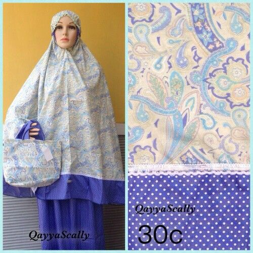 Mukena Katun Jepang by Qayya Scally IDR 225.000 (PIN 73EB8C45 | Whatsapp 08568833775)