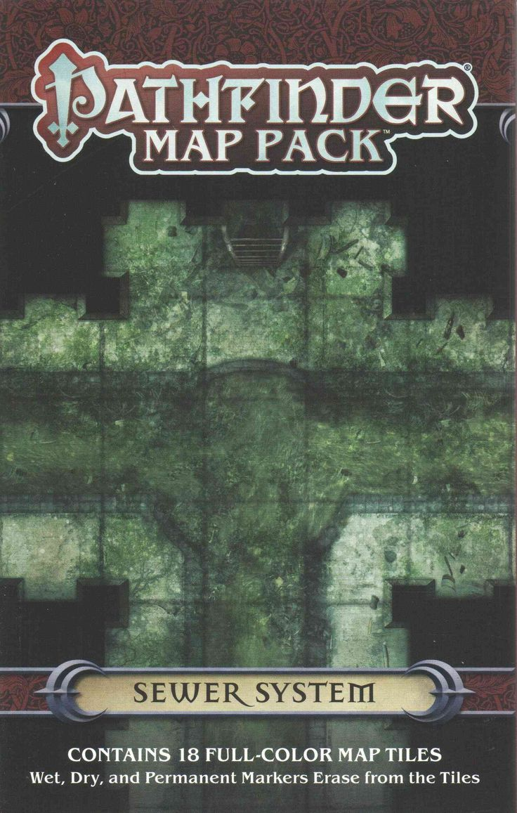 Pathfinder Map Pack Sewer System